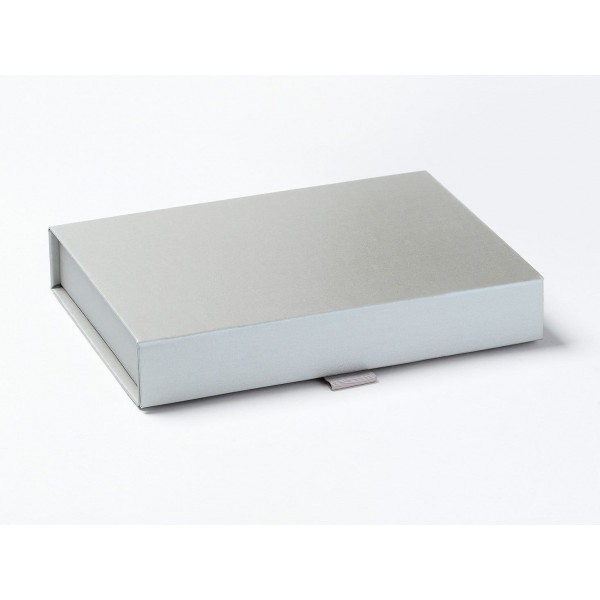 Silver A5 Shallow Gift Boxes