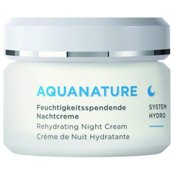 Annemarie Börlind Aquanature Rehydrating Night cream 50 ml