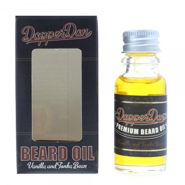 Dapper Dan Vanilla And Tonka Bean Beard Oil 15ml