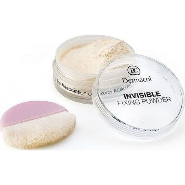 Dermacol Invisible Fixing Powder - Light fusing powder 13.5 g White