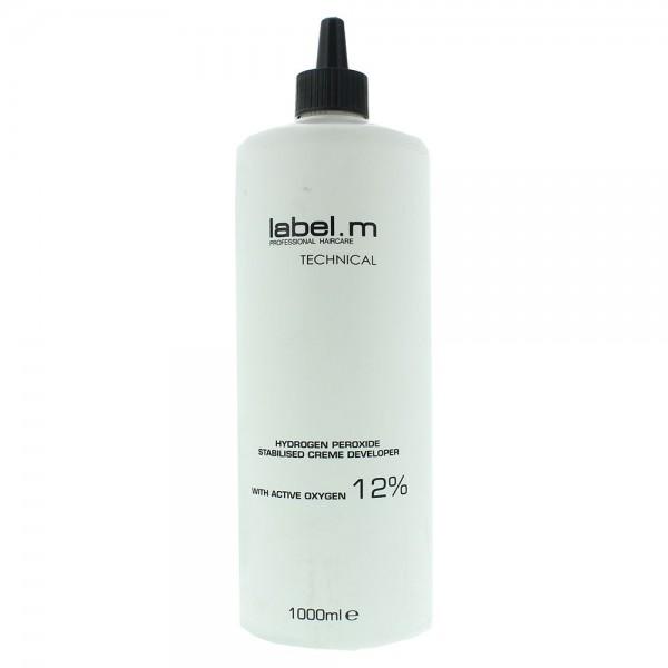 Label M Technical Hydrogen Peroxide Stabilised For Bleach And Dye Cream Developer 90ml