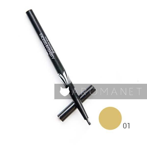 Max Factor Excess Intensity Eyeliner 1.79 g,01 Gold