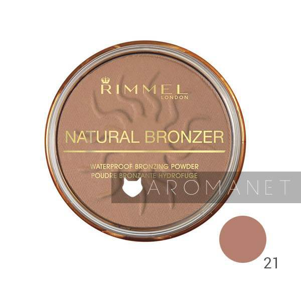 Rimmel Natural Bronzer - Bronzing Powder 14 g 21 Sun Light