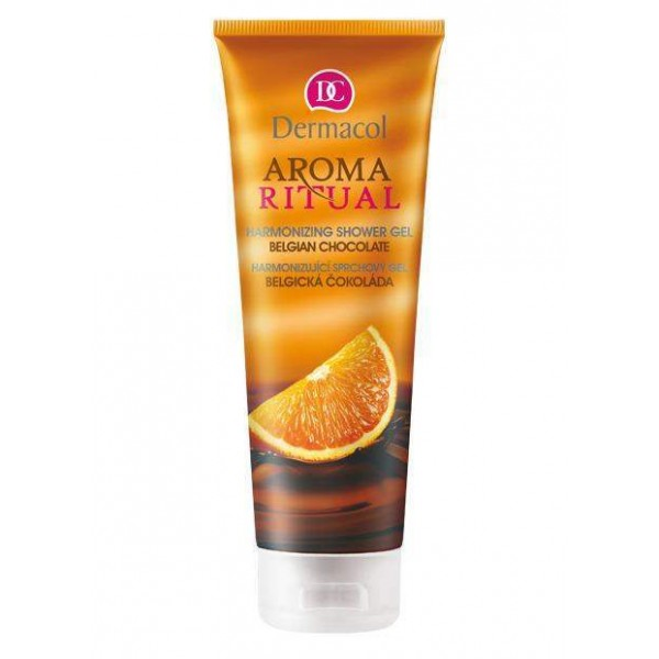 Dermacol Harmonizing Ritual Aroma Shower Gel (Belgian Chocolate With Orange) 250ml