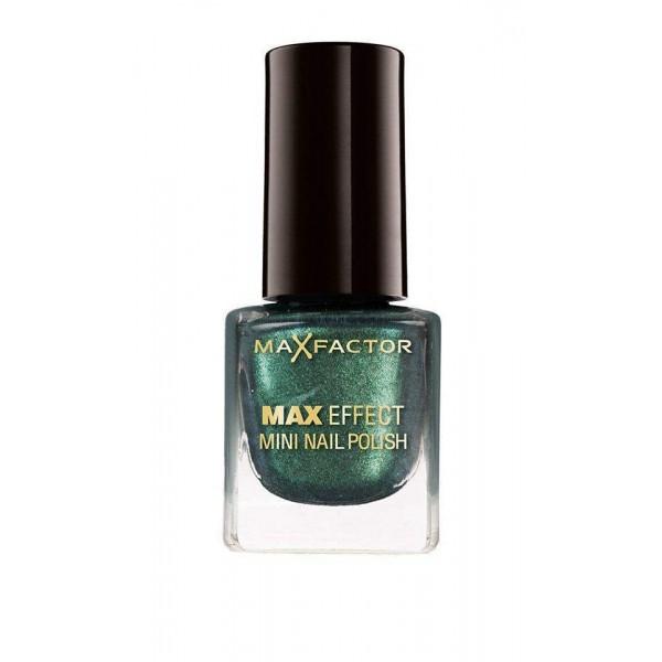 Max Factor Max Effect Mini Nail Polish 4.5ml,15 Glam green