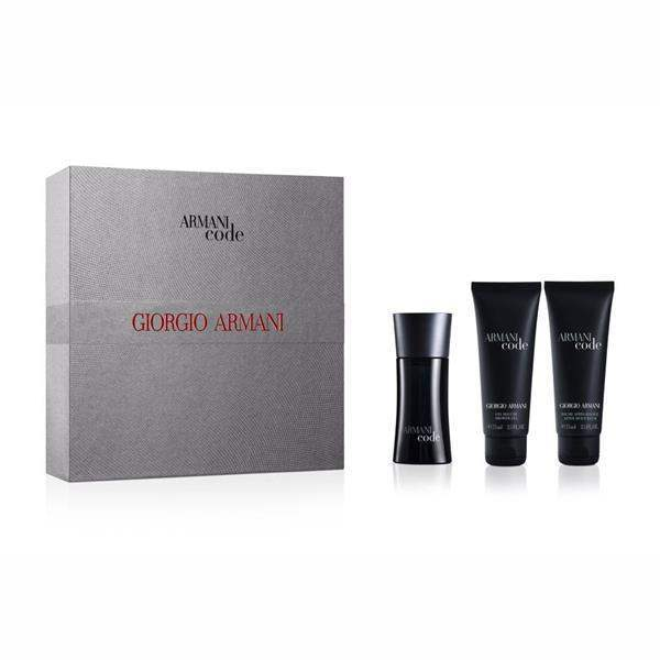 Armani Code For Men Edt 75ml / After Shave Balm 75ml / Shower Gel 75ml
