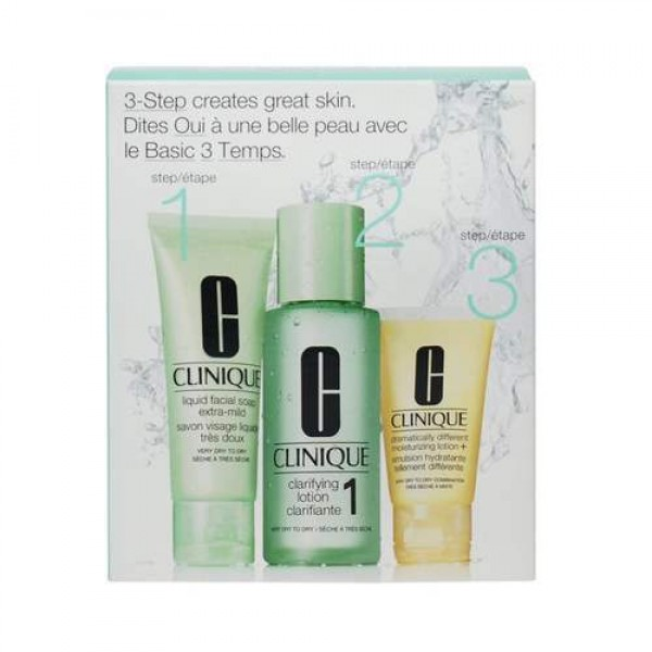 Clinique 3 Step Skin Care System 1 -  180ml