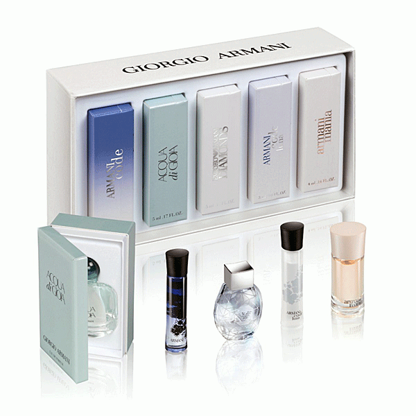 Armani Armani set of thumbnails for women IV 24ml