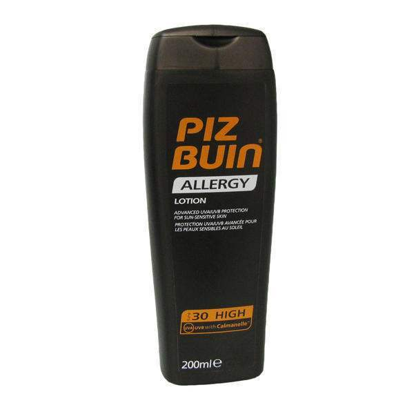 Pizbuin Protection Against Sun Allergy Spf 30 200ml