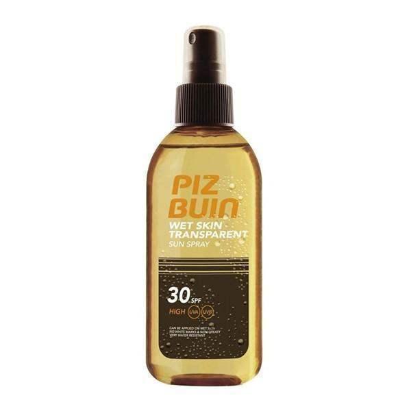 Pizbuin Sun Spray On Damp Skin Spf 30 150ml