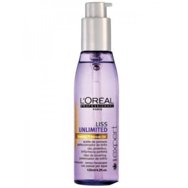 Loreal Professionnel Smoothing Hair Oil Liss Unlimited 125ml