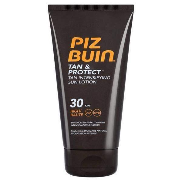 Pizbuin Tan & Protect Intensifying Sun Tan Lotion Spf 30 150ml