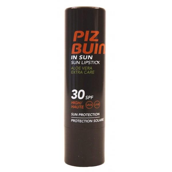 Pizbuin Lip Balm With Aloe Vera 30 Spf 4.0g