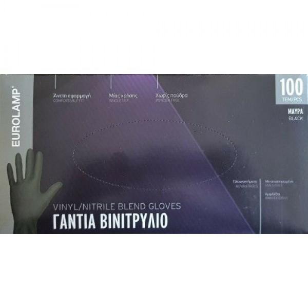 Vinyl/Nitrile Blend Gloves x100