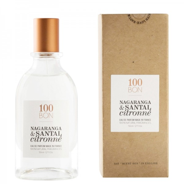 100Bon Nagaranga & Santal Citronne Natural Ingredients Edp 50ml