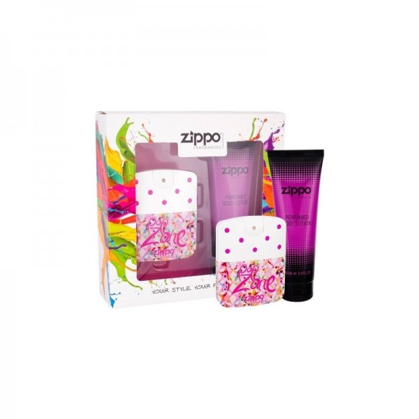 ZIPPO Popzone for Her EDT 40 ml / Body Lotion 100 ml