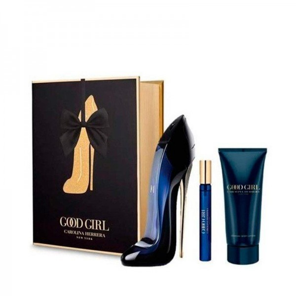 CAROLINA HERRERA Good Girl EDP 80 ml / body lotion 100 ml / miniature EDP 10 ml