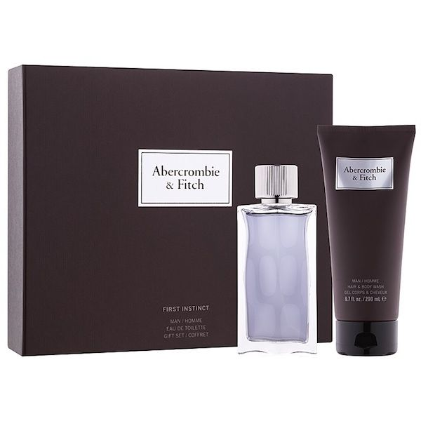 ABERCROMBIE AND FITCH First Instinct EDT 100 ml / body and hair wash 200ml