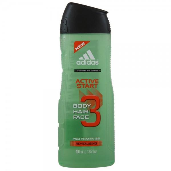 ADIDAS A3 Active Start Men 3in1 Shower Gel 400ml