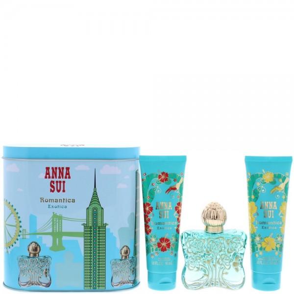 Anna Sui Romantica Exotica Edt 50ml/ Body Lotion 100ml / Shower Gel 100ml / Music Box