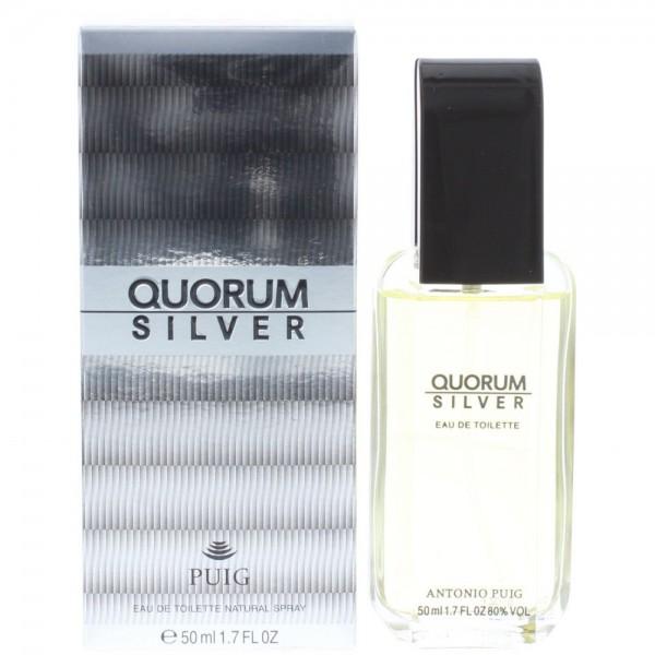 Antonio Puig Quorum Silver Edt 50ml