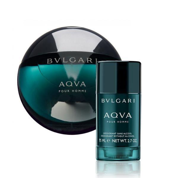 BVLGARI Aqva pour Homme 100 ml EDT / stiff deostick 75 ml