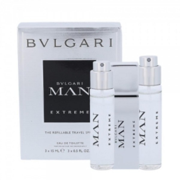 BVLGARI MAN Extreme EDT Set 3 miniatures 15ml