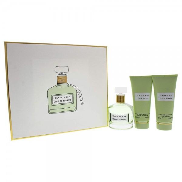 Carven L Eau Edt 100ml / Body Milk 100ml / Shower Gel 100ml
