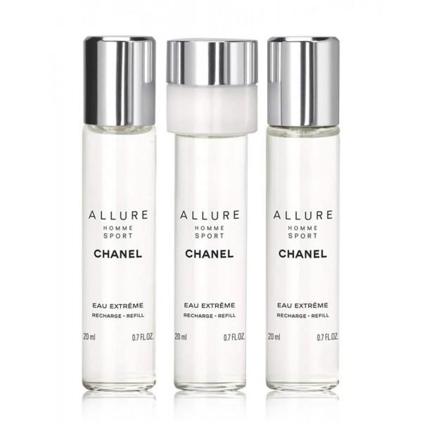 Chanel Allure Homme Sport Edt (3 X 20ml) 60ml