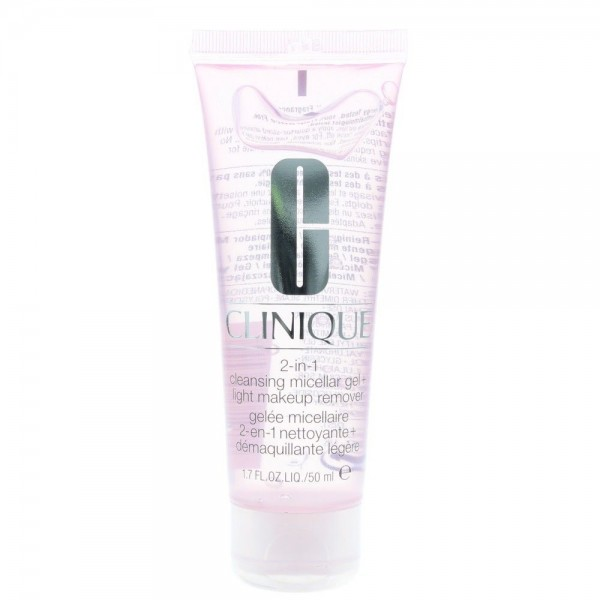 Clinique 2-In-1 Makeup Remover And Cleansing Micellar Gel 50ml