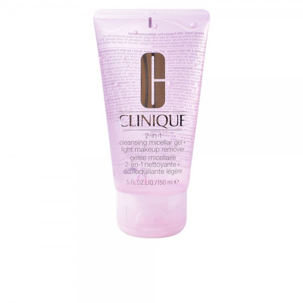 Clinique Cleansing Micellar Gel+Light Makeup Remover 2in1 150ml