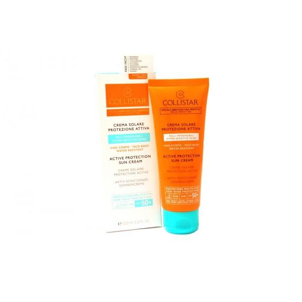 Collistar Active Protection Sun Cream 100ml Face Body Spf 50+