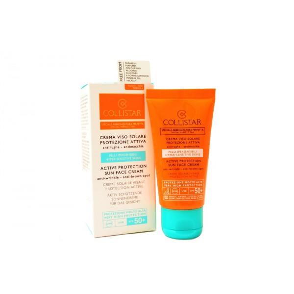 Collistar Active Protection Sun Face Cream 50ml Anti-Wrinkle