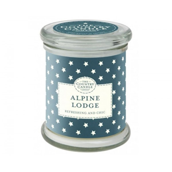 Country Candle Alpine Lodge - Scented Candle in Glass with Lid 848.0g