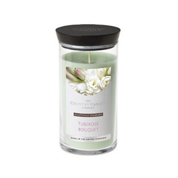 Country Candle Tuberose Bouquet - Scented Candle in Glass Dose 630.0g