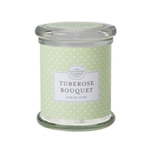 Country Candle Tuberose Bouquet - Scented Candle in Glass with Lid 848.0g