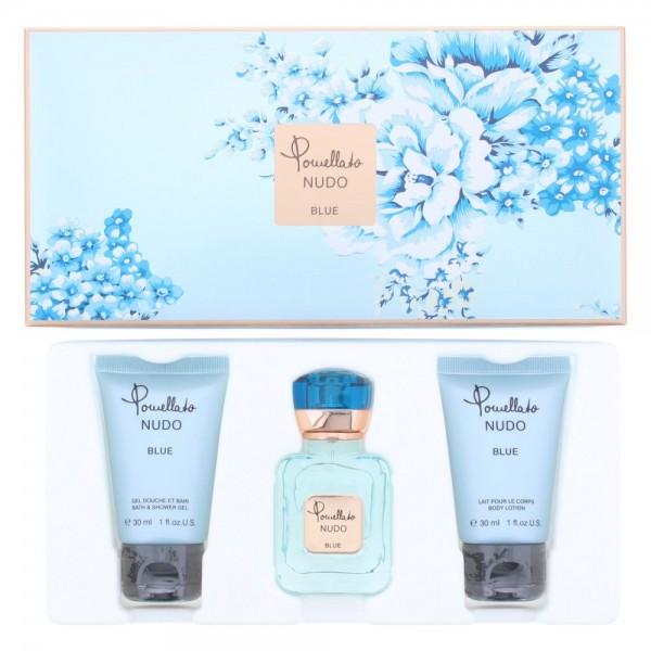 Custo Pomellato Nudo Blue Edp 25ml & Shower Gel 30ml & Body Lotion 30ml