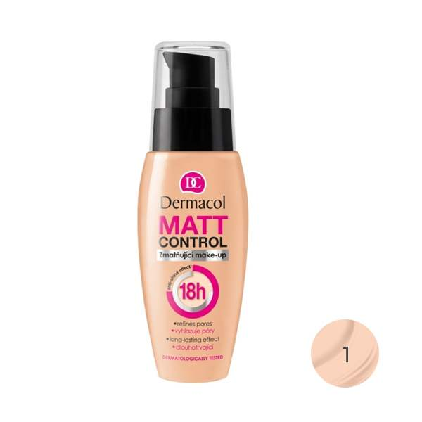 Dermacol Matt Control 18h 30 Ml Shade 1