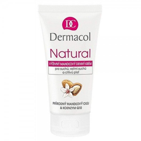 Dermacol Natural (Dry & Sensitive Skin) - Almond Nourishing Day Cream in a tube 50ml