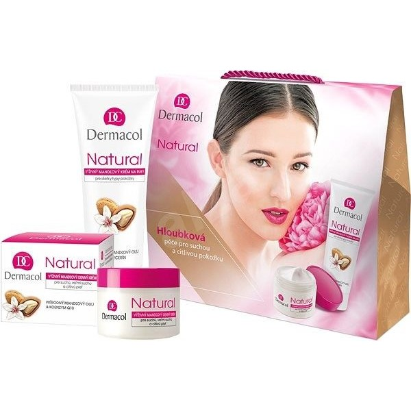 Dermacol Natural Set - Gift Set with Almond Oil
