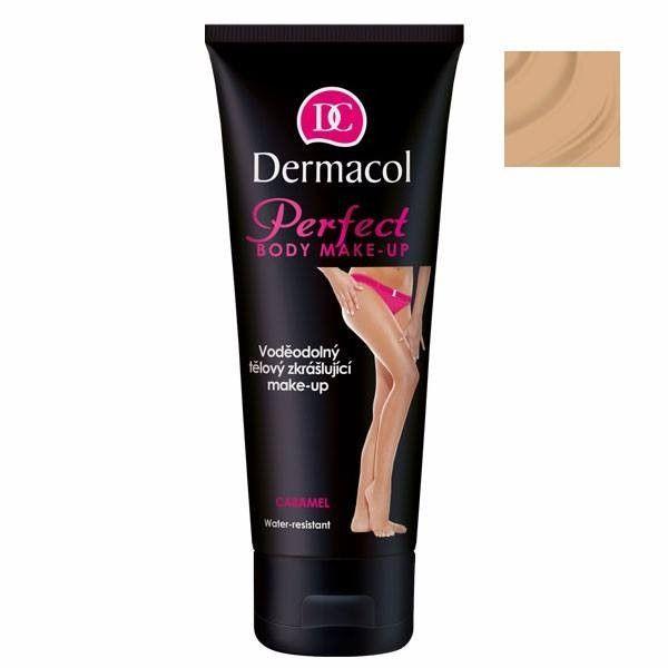 Dermacol Perfect Body Makeup - Waterproof body makeup 100ml Caramel