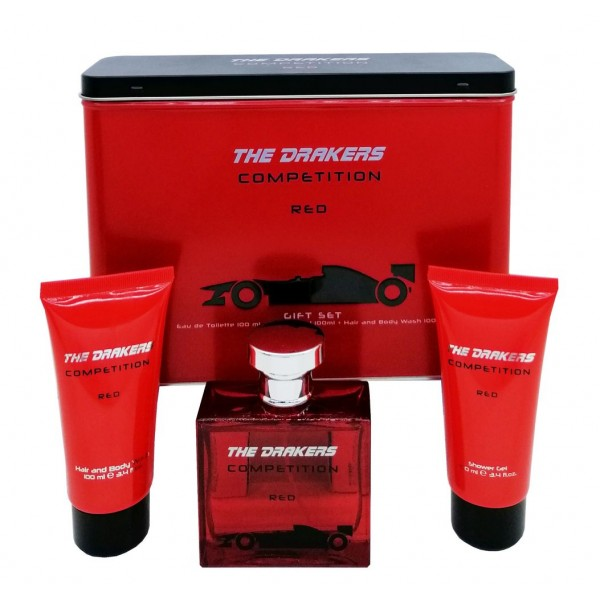 Mtv Drakers Red Edt 100ml / Shower Gel 100ml / Hair And Body Wash 100ml