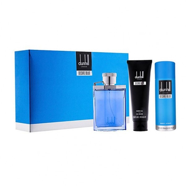 DUNHILL Desire Blue EDT 100 ml / deospray 195 ml / shower gel 90 ml