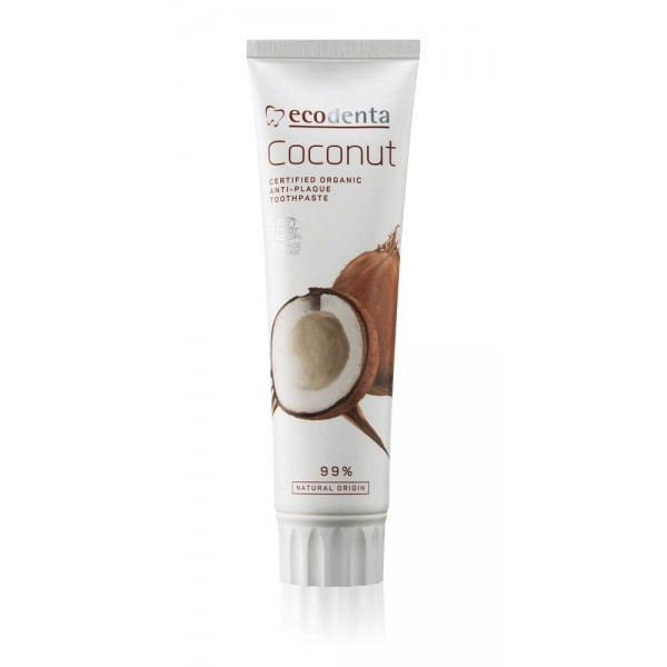 Ecodenta Certified Organic Anti-plaque Toothpaste 100ml
