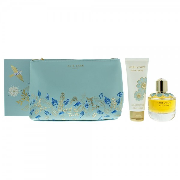 Elie Saab Girl Of Now Edp 50ml / Body Lotion 75ml / Pouch