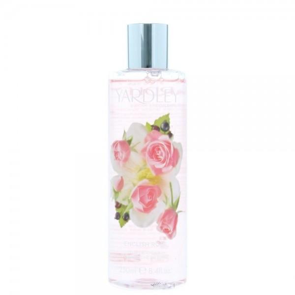English Rose Body Wash 250ml Yardley