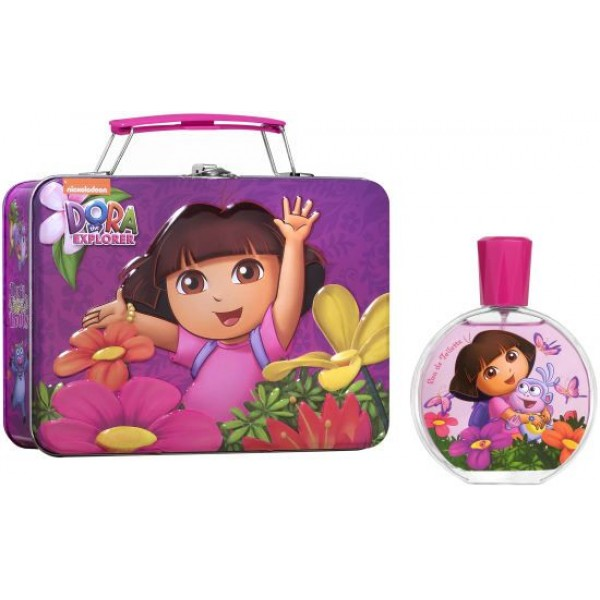 Nickelodeon The Explorer Dora Boots EDT 100 ml / lunchbox