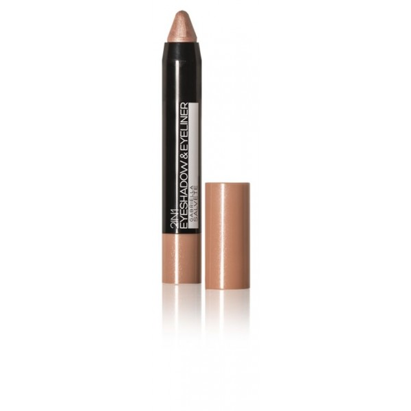 Gabriella Salvete Eyeshadow & Eyeliner 2in1 3g 03 Metallic Rose