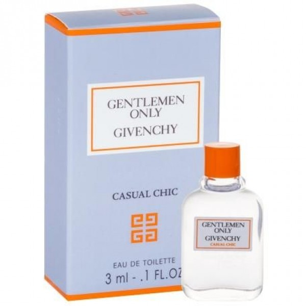 GIVENCHY Gentlemen Only Casual Chic EDT Miniature 3ml