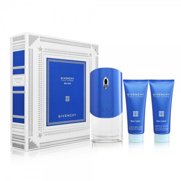 GIVENCHY Blue Label pour Homme EDT 100 ml / After Shave Balm 50 ml / shower gel 100ml
